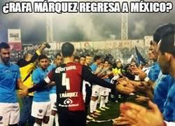 Enlace a Rafa Márquez tiene el respeto de todos