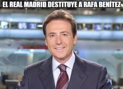 Enlace a El Real Madrid destituye a Rafa Benítez