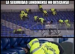 Enlace a La seguridad londinense no descansa