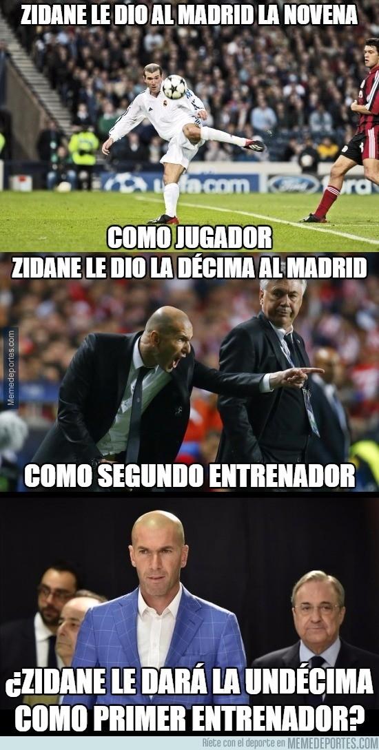 775217 - La pregunta que nace con la llegada de Zidane