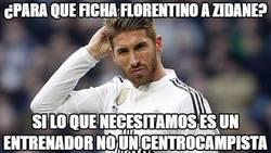 Enlace a ¿Para qué ficha Florentino a Zidane?