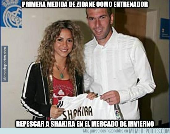 775502 - Primera medida de Zidane como entrenador