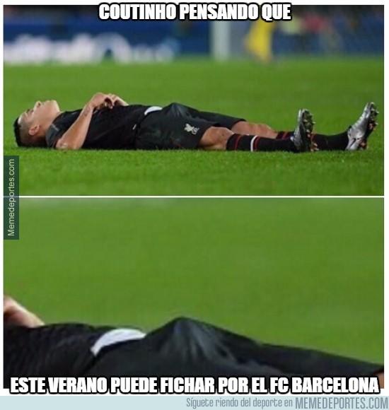 775767 - Coutinho pensando que puede fichar por el Barcelona
