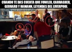 Enlace a Cuando te das cuenta que Fowler, Carragher, Gerrard y Hamann, leyendas del Liverpool