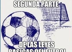 Enlace a Leyes básicas del fútbol (Parte 2)