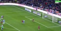 Enlace a GIF: Messi empata para el Barça frente al Espanyol