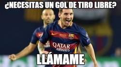 Enlace a Increíble la precisión de Messi
