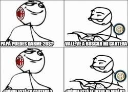 Enlace a El Inter trolleando al Milan