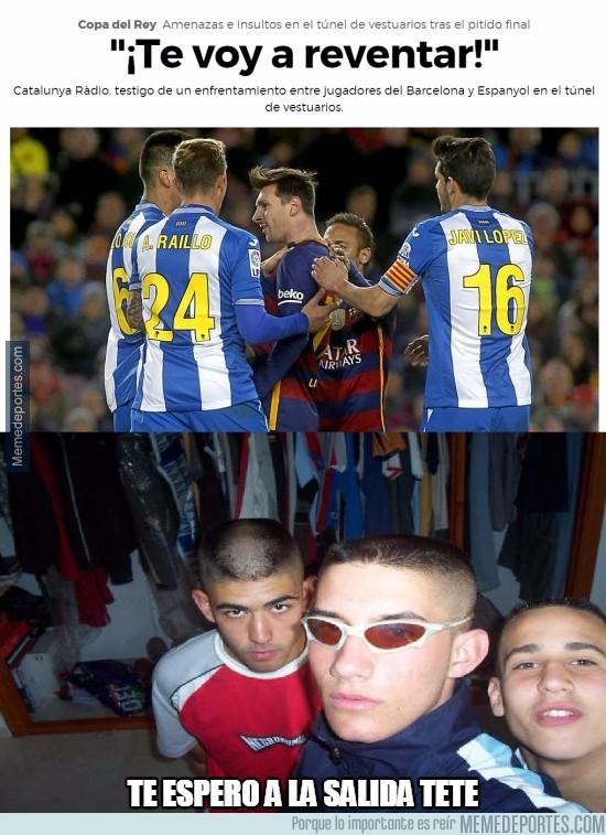 776788 - Los jugadores del Espanyol son de la cantera del Pont Aeri