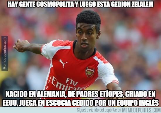 777291 - Hay gente cosmopolita y luego está Gedion Zelalem