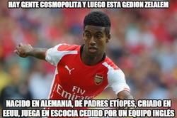 Enlace a Hay gente cosmopolita y luego está Gedion Zelalem