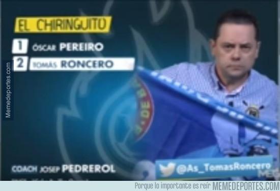 777565 - Roncero apoyando al Espanyol. Espanyol eliminado de Copa del Rey