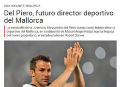 Enlace a Del Piero al Mallorca