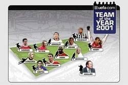 Enlace a Todos los equipos del año de la UEFA desde el 2001, ¿con cuál te quedas?