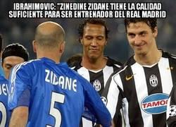 Enlace a ¿Zlatan mostrando humildad? ¿quién eres y qué has hecho con Zlatan?