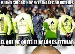 Enlace a Mala idea Zidane...