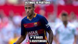Enlace a Neymar está intratable
