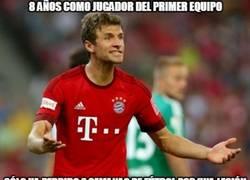 Enlace a Müller, un jugador con gran físico
