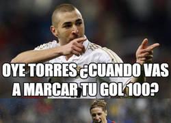Enlace a Benzema ya ha marcado su gol 100