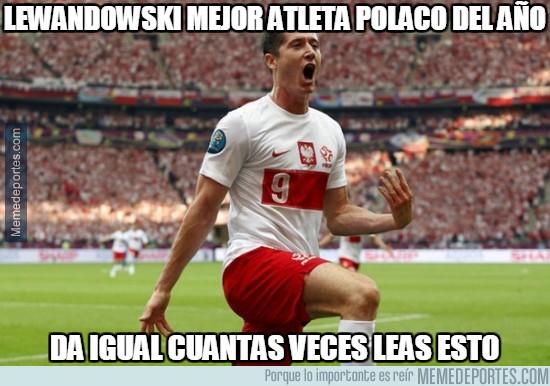 779043 - Lewandowski mejor atleta polaco del año