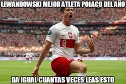 Enlace a Lewandowski mejor atleta polaco del año