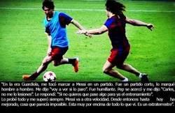Enlace a El día que Puyol reconoció que Messi era un extraterrestre