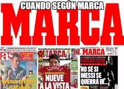 Enlace a Cuando según marca, la MSN sería del Real Madrid
