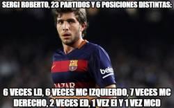 Enlace a Sergio Roberto, el jugador total