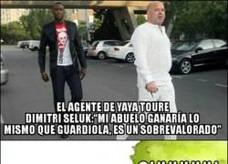 Enlace a Muy duro el agente de Yaya Touré contra Guardiola