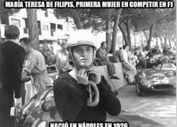 Enlace a Fallece la primera mujer que pilotó un F1. DEP Maria Teresa de Filippis