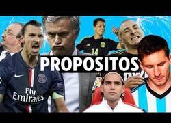 Enlace a Vídeo: Los propósitos para este año del mundo del fútbol