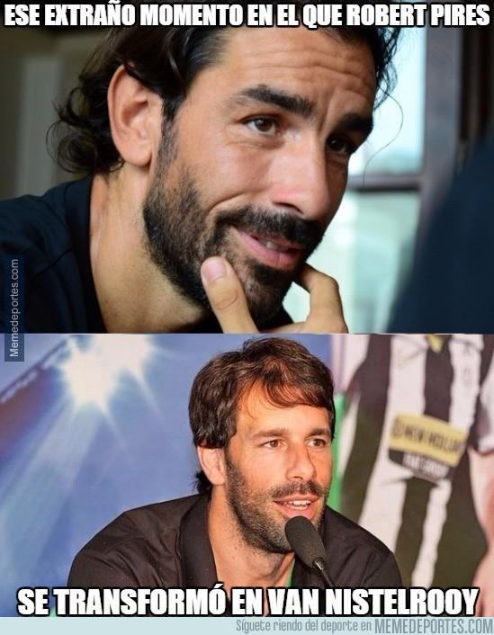 779680 - Robert Pires y su tremendo parecido con Van Nistelrooy