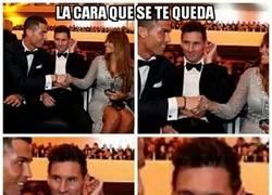 Enlace a La épica cara de Messi