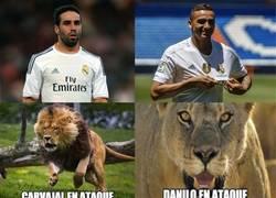 Enlace a Diferencias entre Carvajal y Danilo