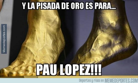 780713 - Pau López se va contento a casa!