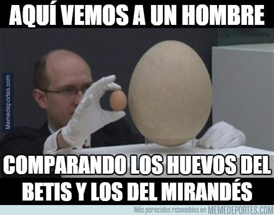 781675 - Menudos huevos los del Mirandés
