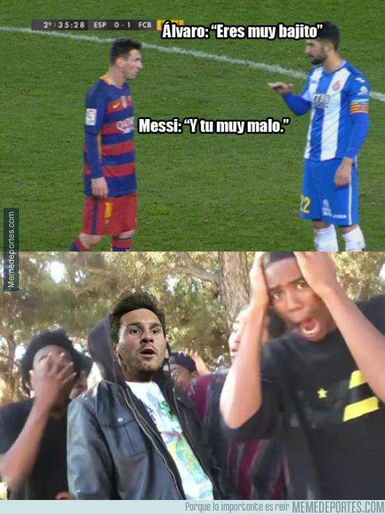 782241 - La discusión de Álvaro del Espanyol con Messi