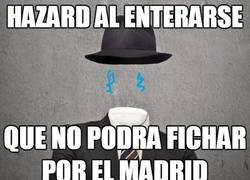 Enlace a Hazard está triste