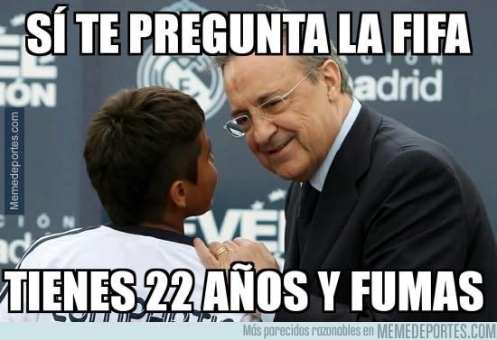 782906 - Florentino ya prepara el recurso para la FIFA