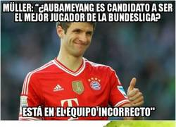 Enlace a Müller vuelve a hacer de las suyas