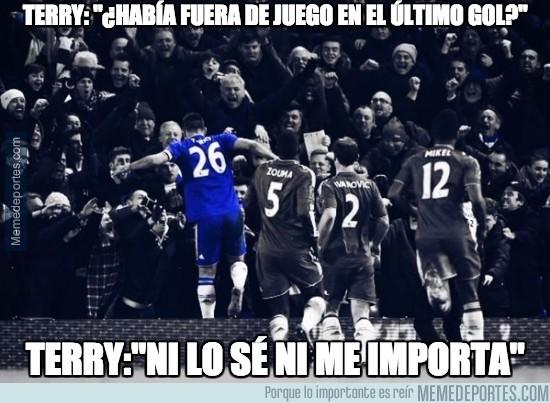 783838 - Terry sobre el polémico gol al Everton en el 98