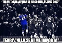 Enlace a Terry sobre el polémico gol al Everton en el 98