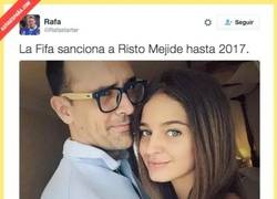 Enlace a La FIFA también sanciona a Risto Mejide