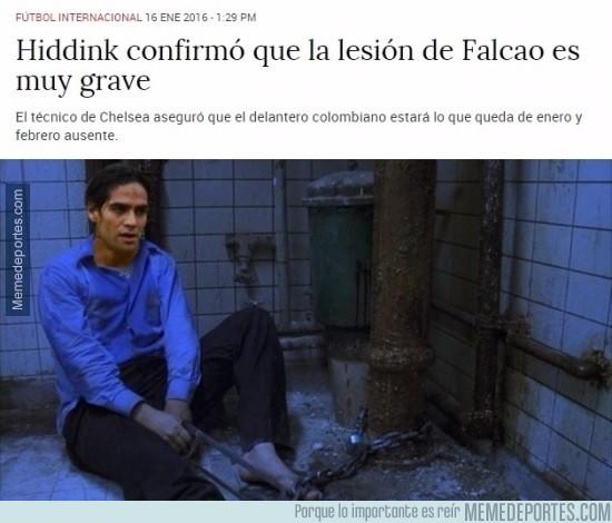 784253 - Falcao decidió ponerle fin a su sufrimiento