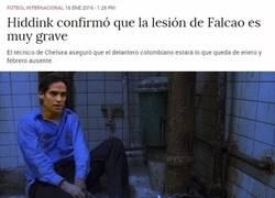 Enlace a Falcao decidió ponerle fin a su sufrimiento