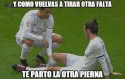 Enlace a Cristiano avisa a Bale