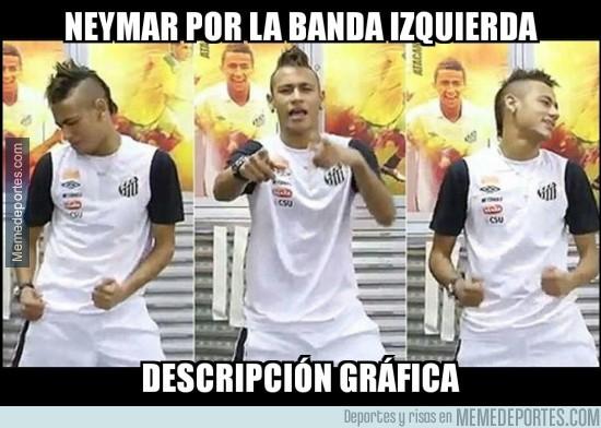 785303 - Neymar hace lo que quiere por su banda
