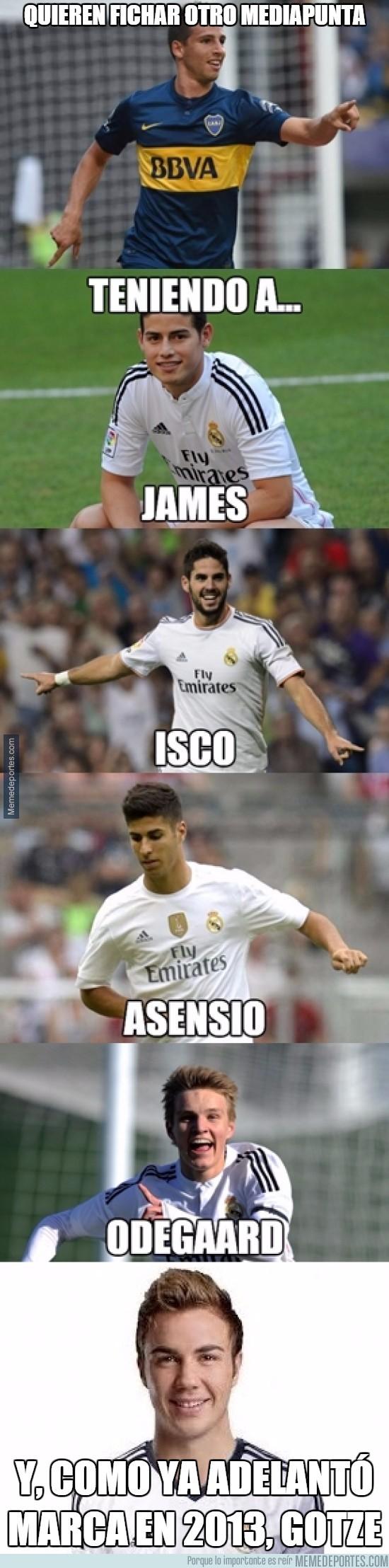 786150 - En el Madrid quieren fichar otro mediapunta