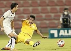 Enlace a Xavi tiene poco público en Qatar