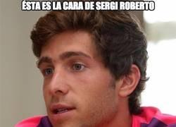 Enlace a Sergi Roberto y su capacidad de jugar hasta en 7 posiciones diferentes